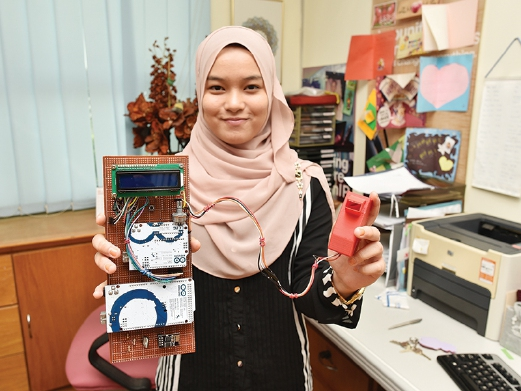 uitm student created new technique
