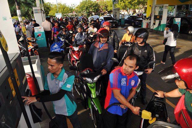 Minyak Petrol Percuma Buat Penunggang Motorsikal di Wilayah Persekutuan