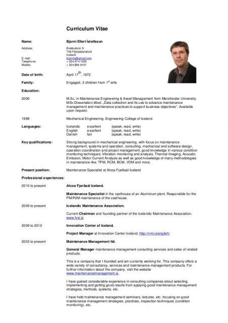 Perbezaan Resume Curriculum Vitae Dan Biodata