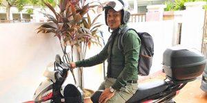 Doktor Kongsi Cara Jimat RM 10, 070 Dengan Menaiki Motorsikal