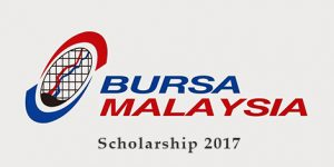 Biasiswa Bursa Malaysia 2017