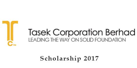 Biasiswa Tasek Corporation Berhad 2017 (Bidang Kejuruteraan)