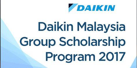 Daikin Malaysia Group Scholarship Programme 2017