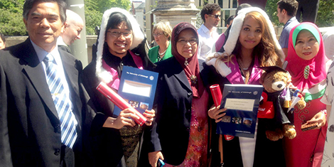 Pelajar Cemerlang SPM 2004 Nur Amalina Che Bakri