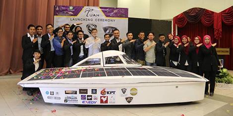 (UiTM) Wakil Negara Dalam Kejohanan Cabaran Solar Dunia Bridgestone di Australia