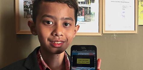 Pelajar Malaysia Berumur 13 Tahun Cipta Aplikasi Buku Teks Digital