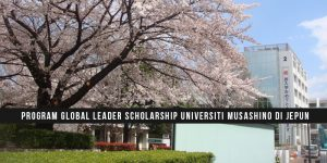 Program Global Leader Scholarship Universiti Musashino di Jepun
